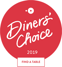 OpenTable Diner's choice 2019